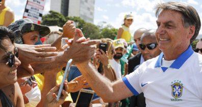 Bolsonaro na rua